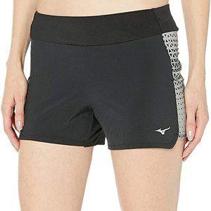 """Mizuno Running Women's Phoenix 4"""" Printed Shorts"""